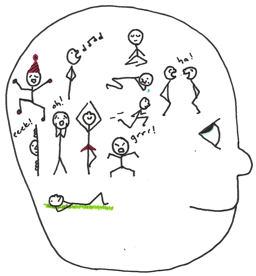 activities in the mind - paying attention - no shouldn'ts