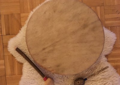 Shamanic Drum & Rattle for Ceremony
